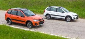Lada Kalina Cross Black Line